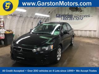 Used 2016 Mitsubishi Lancer CVT*PHONE CONNECT*TRACTION CONTROL*HEATED SEATS*CLIMATE CONTROL* for sale in Cambridge, ON