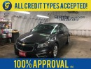 Used 2015 Chevrolet Cruze LT*BACK UP CAMERA*MY LINK*KEYLESS ENTRY*CLIMATE CONTROL*TRACTION CONTROL*POWER WINDOWS/LOCKS/MIRRORS*ON STAR*AM/FM/XM/CD/AUX/USB/BLUETOOTH* for sale in Cambridge, ON