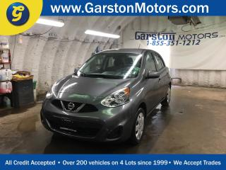 Used 2016 Nissan Micra SV*KEYLESS ENTRY*CLIMATE CONTROL*AM/FM/CD/AUX*PHONE CONNECT*CRUISE CONTROL*POWER WINDOWS/LOCKS/HEATED MIRRORS* for sale in Cambridge, ON