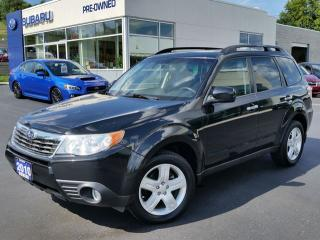 Used 2010 Subaru Forester Limited for sale in Kitchener, ON