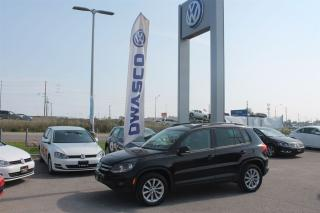 Used 2014 Volkswagen Tiguan Comfortline w/ 4MOTION AWD for sale in Whitby, ON