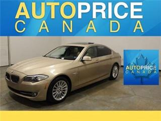 Used 2011 BMW 5 Series X-DRIVE NAVIGATION XENON MOONROOF for sale in Mississauga, ON