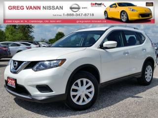 Used 2015 Nissan Rogue S AWD w/keyless,bluetooth,cruise,rear cam for sale in Cambridge, ON