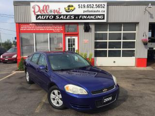 Used 2006 Chevrolet Impala LT Sunroof for sale in London, ON