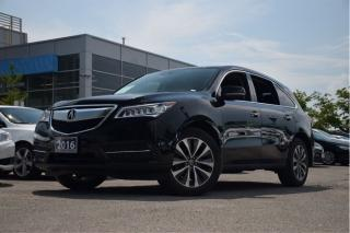 Used 2016 Acura MDX Navi Feature Vehicle Navigation| Backup Camera|Pow for sale in Thornhill, ON