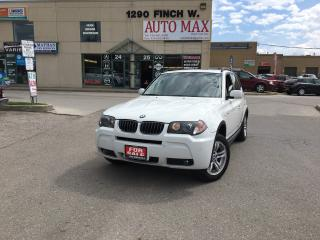 Used 2006 BMW X3 3.0i, Sunroof, Mint Condition for sale in North York, ON