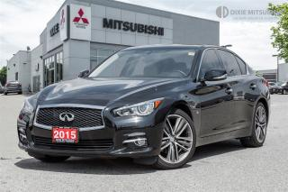 Used 2015 Infiniti Q50 LIMITED | NAVI | 19 WHEELS | CLEAN CARPROOF | for sale in Mississauga, ON