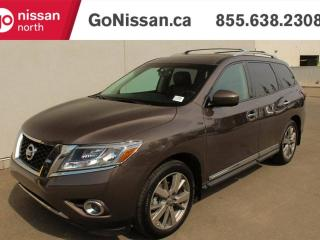 Used 2016 Nissan Pathfinder DVD HEADREST, LEATHER, NAVIGATION!! for sale in Edmonton, AB