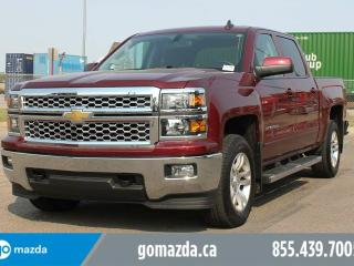 Used 2015 Chevrolet Silverado 1500 2LT SIDE STEPS POWER SEAT HEATED SEATS BOX LINER 1 OWNER LOCAL LEASE BACK LOW KMS for sale in Edmonton, AB