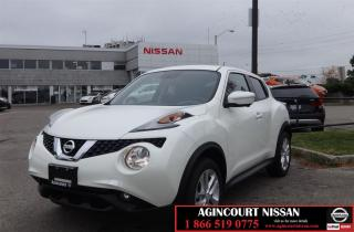 Used 2017 Nissan Juke SL |Leather|AWD|Navigation| for sale in Scarborough, ON