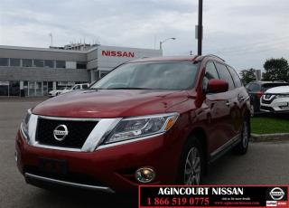 Used 2015 Nissan Pathfinder SL Premium Tech|Navi|Moonroof| for sale in Scarborough, ON