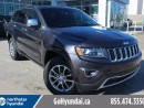 Used 2016 Jeep Grand Cherokee Limited LEATHER SUNROOF BACKUP CAM for sale in Edmonton, AB