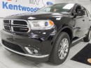 Used 2017 Dodge Durango SXT- Spacious AWD vehicle with eco and sport modes. sunroof and rear climate control! for sale in Edmonton, AB
