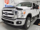 Used 2015 Ford F-250 XLT 6.2L V8 FX4 off-road pkg in beautiful white! for sale in Edmonton, AB