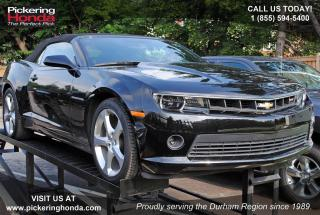 Used 2015 Chevrolet Camaro LT 2LT REAR CAMERA LEATHER BLUETOOTH for sale in Pickering, ON