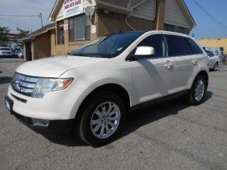 Used 2008 Ford Edge Limited 3.5L V6 AWD Leather Panoramic Sunroof for sale in Etobicoke, ON