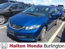 Used 2014 Honda Civic Sedan LX / HEATED SEATS /BLUETOOTH for sale in Burlington, ON
