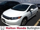 Used 2012 Honda Civic LX for sale in Burlington, ON