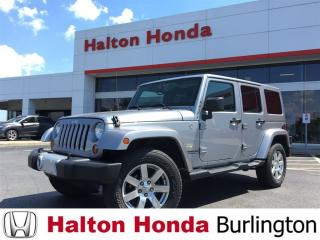 Used 2013 Jeep Wrangler Unlimited Sahara for sale in Burlington, ON