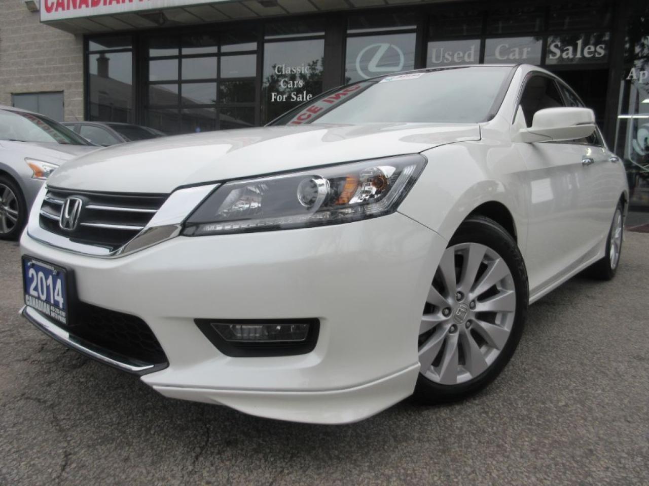 2014 Honda Accord EX-L-LEATHER-SUROOF-CAMERA-BLUETOOTH