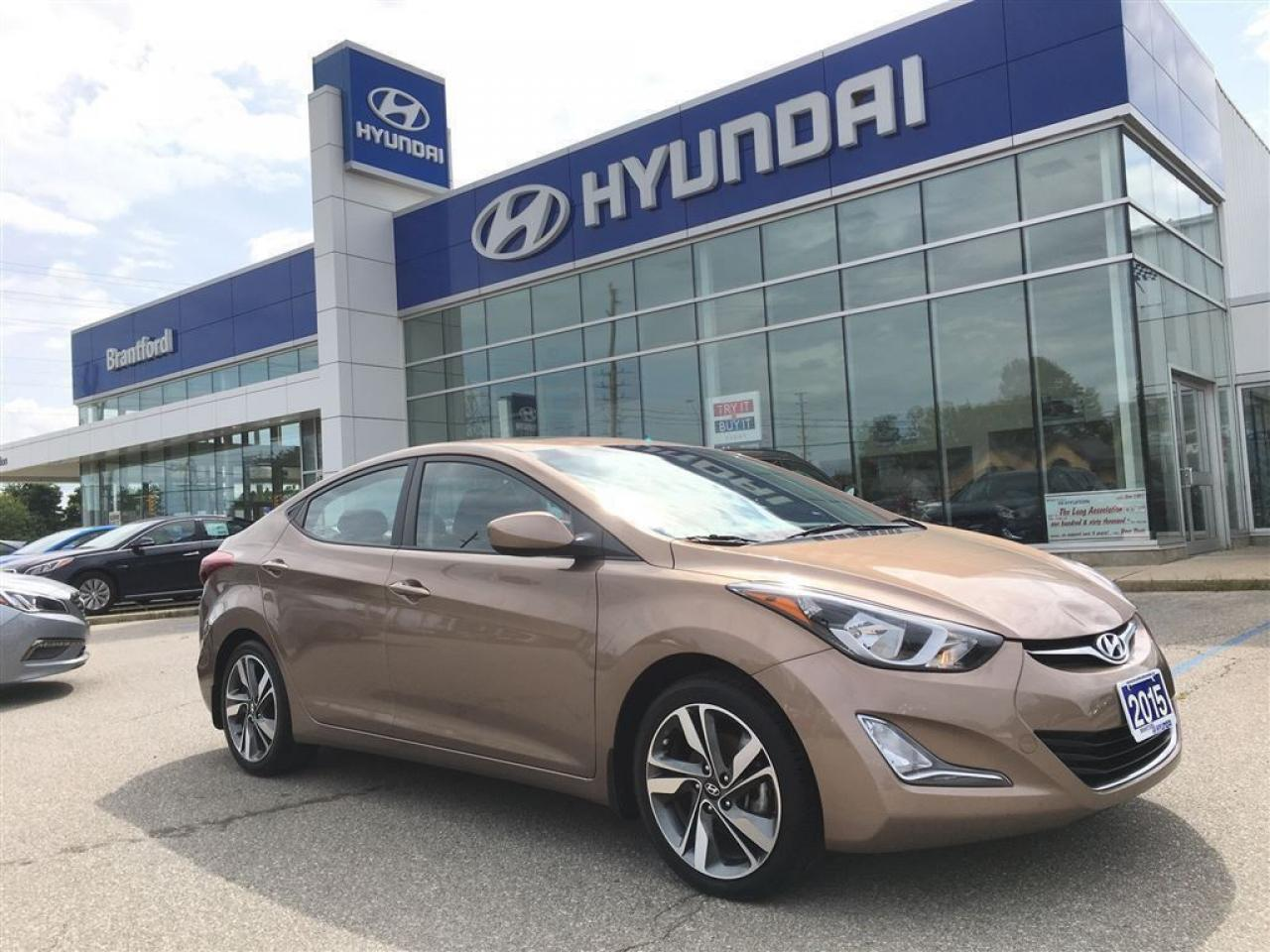 Photo of Brown 2015 Hyundai Elantra