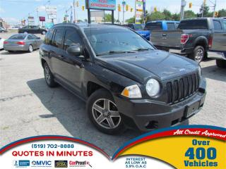 Used 2009 Jeep Compass NORTH EDITION | 4X4 | MANUAL for sale in London, ON