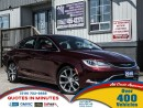 Used 2016 Chrysler 200 C | PANORAMIC ROOF | NAV | LEATHER | BACKUP CAM for sale in London, ON