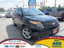 Used 2014 Ford Explorer LIMITED | 4X4 | LEATHER | NAV | PANO ROOF for sale in London, ON