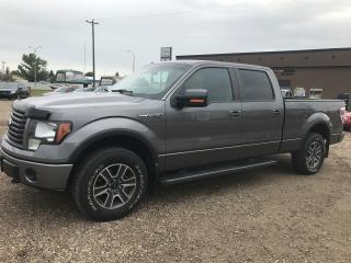 Used 2012 Ford F-150 FX4 SUPERCREW 6.5-FT for sale in Stettler, AB