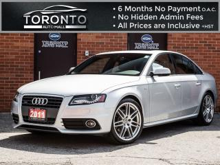 Used 2011 Audi A4 2.0T+S Line+Navi+Camera+Bang & O+Blind Spot for sale in North York, ON