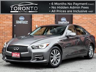 Used 2014 Infiniti Q50 Premium+Navi+Camera+Bose+Bluetooth for sale in North York, ON