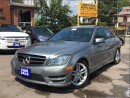 Used 2014 Mercedes-Benz C-Class AWD*,Leather,Sunroof,AmbionLights&LaneAssist* for sale in York, ON