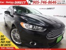Used 2013 Ford Fusion SE| LEATHER| SUNROOF| NAVI| LOCAL TRADE| for sale in Burlington, ON