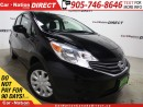 Used 2016 Nissan Versa Note 1.6 SV| BACK UP CAMERA| OPEN SUNDAYS| for sale in Burlington, ON