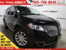 Used 2013 Lincoln MKX | AWD| DUAL DVD| NAVI| DUAL SUNROOF| for sale in Burlington, ON
