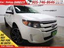 Used 2013 Ford Edge SEL| LEATHER| DUAL SUNROOF| NAVI| for sale in Burlington, ON