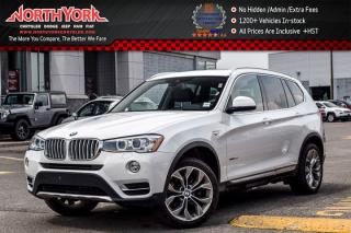 Used 2017 BMW X3 xDrive28i|Prem.Enhanced Pkg|HeadsUp|Pano_Sunroof|Nav|19