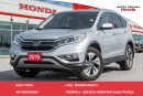 Used 2015 Honda CR-V Touring for sale in Whitby, ON