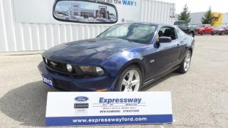 Used 2012 Ford Mustang GT 5.0l V8 420Hp, Automatic, Glassroof for sale in Stratford, ON