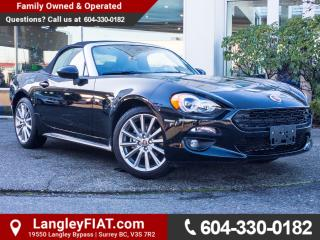 New 2017 Fiat 124 Spider Lusso CONVERTIBLE, RAIN-SENSING WIPERS for sale in Surrey, BC