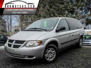Used 2007 Dodge Grand Caravan SE for sale in Stittsville, ON