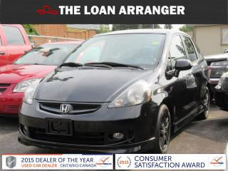 Used 2008 Honda Fit for sale in Barrie, ON