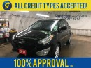 Used 2013 Hyundai Tucson GL*AWD*LEATHER*PHONE CONNECT*HEATED FRONT SEATS*ECO MODE*AWD*KEYLESS ENTRY*CLIMATE CONTROL*TRACTION CONTROL*ALLOYS*AM/FM/XM/CD/AUX/USB/BLUETOOTH*ROOF for sale in Cambridge, ON