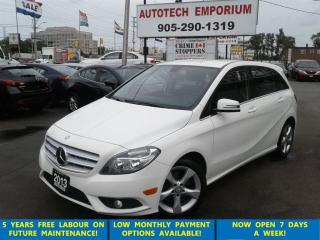 Used 2013 Mercedes-Benz B-Class Sports Tourer Prl White Leather/Alloys for sale in Mississauga, ON