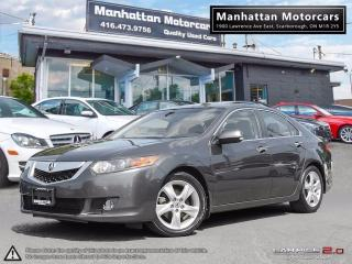 Used 2009 Acura TSX TECH PKG |NAV|CAMERA|6 SPEED MANUAL|NO ACCIDENT for sale in Scarborough, ON