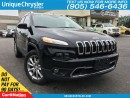 Used 2017 Jeep Cherokee Limited | NAVI | LEATHER | BACK UP CAMERA | for sale in Burlington, ON