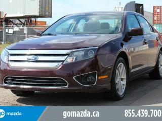 Used 2012 Ford Fusion SEL AWD LEATHER SUNROOF NAVIGATION ACCIDENT LOW KMS for sale in Edmonton, AB