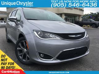 Used 2017 Chrysler Pacifica Limited | SEAT BACK DVD | ADV SAFETYTEC | for sale in Burlington, ON