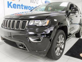 Used 2017 Jeep Grand Cherokee Limited, NAV, sunroof, park assist and back up cam, leather! Pick it up while it lasts. Won't be here long! for sale in Edmonton, AB