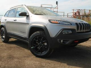 Used 2017 Jeep Cherokee Trailhawk 4x4 / GPS Navigation / Full Sunroof for sale in Edmonton, AB